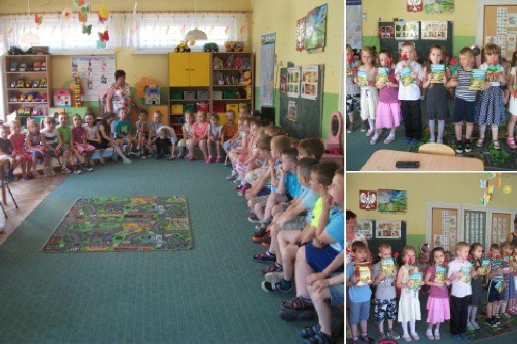 Ilustracja do informacji: Przedszkole Samorządowe nr 2 w Rzepinie pożegnało 7-latków.