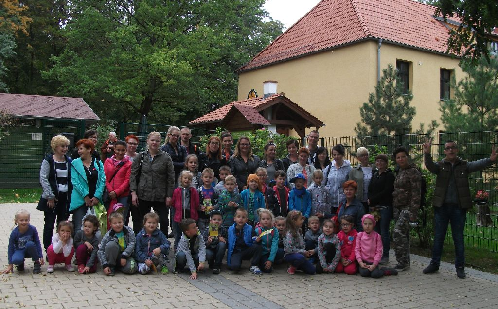 """Ilustracja do informacji: Wizyta przedszkolaków w """"Wildpark"""" we Frankfurcie nad Odrą."""