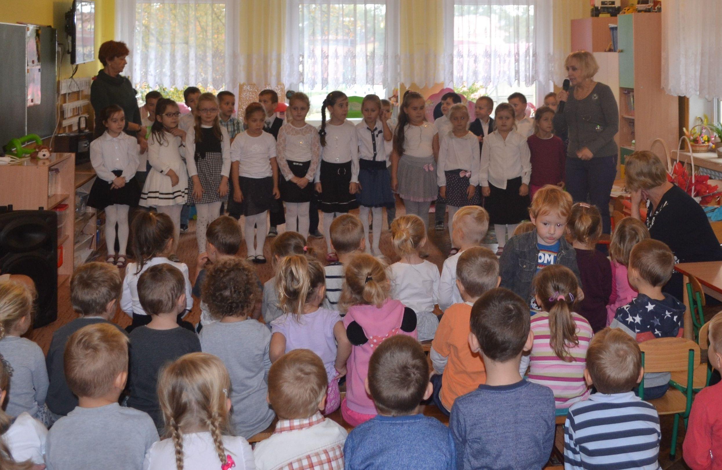 Ilustracja do informacji: Pasowanie na Przedszkolaka w Przedszkolu Samorządowym nr 2 w Rzepinie.