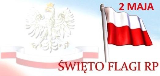 Ilustracja do informacji: BIAŁO-CZERWONY KOROWÓD. Zaproszenie na Obchody Święta Flagi RP.