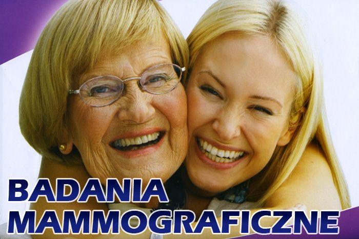 Ilustracja do informacji: Przypominamy, że 17 stycznia br. panie mogą skorzystać z bezpłatnych badań mammograficznych