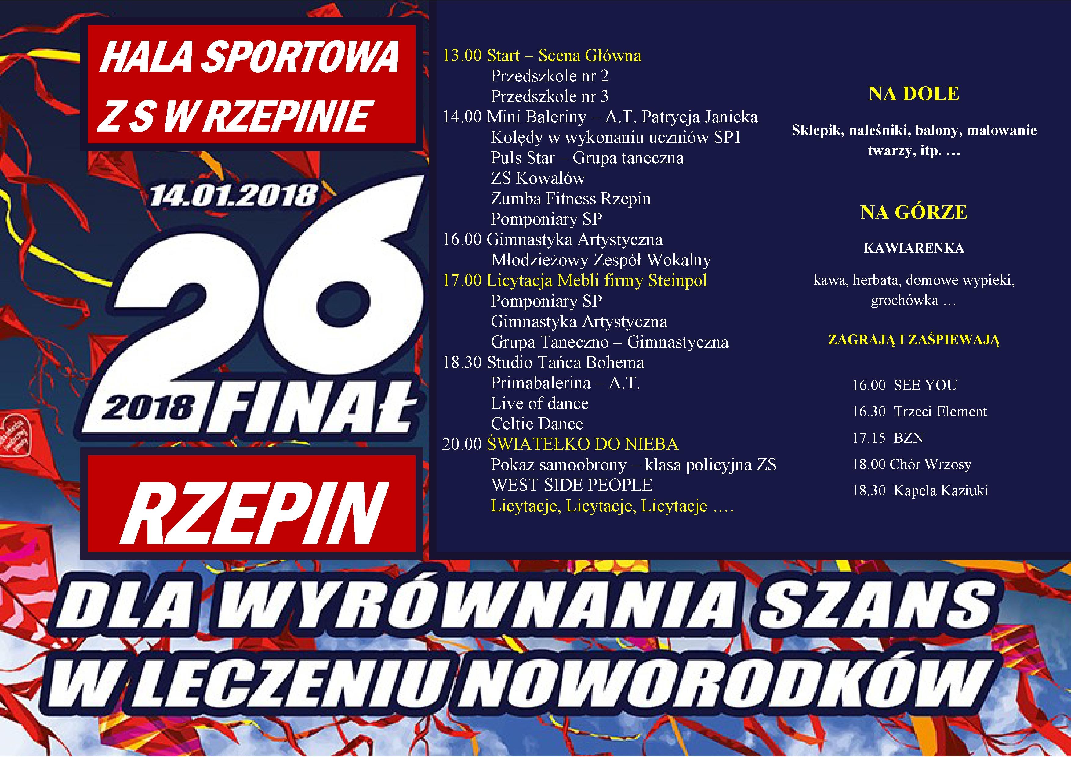 Ilustracja do informacji: Trwa zbiórka fantów na 26 Finał WOŚP!