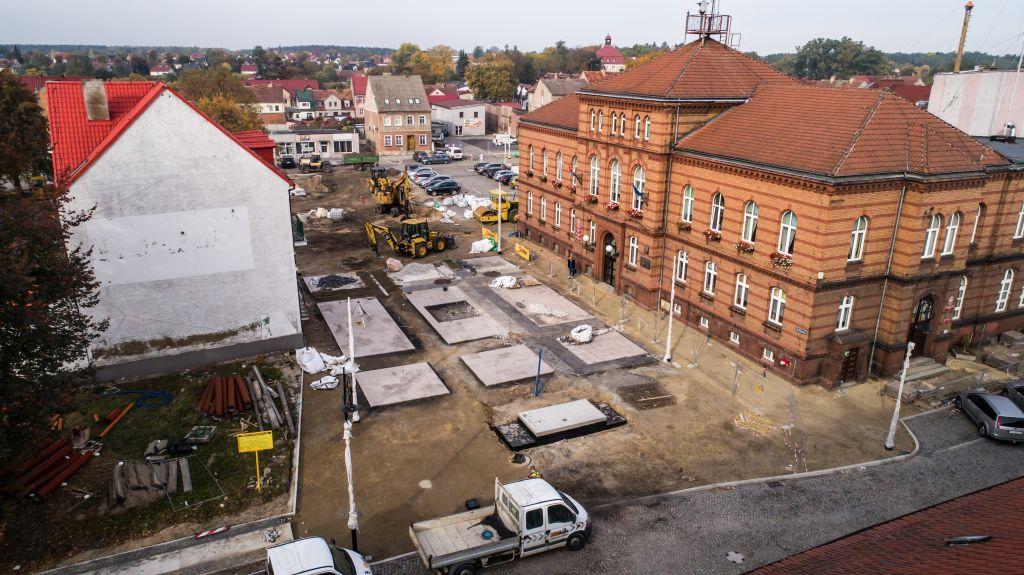 Ilustracja do informacji: Akcja Rewitalizacja – zdjęcia z placu budowy!