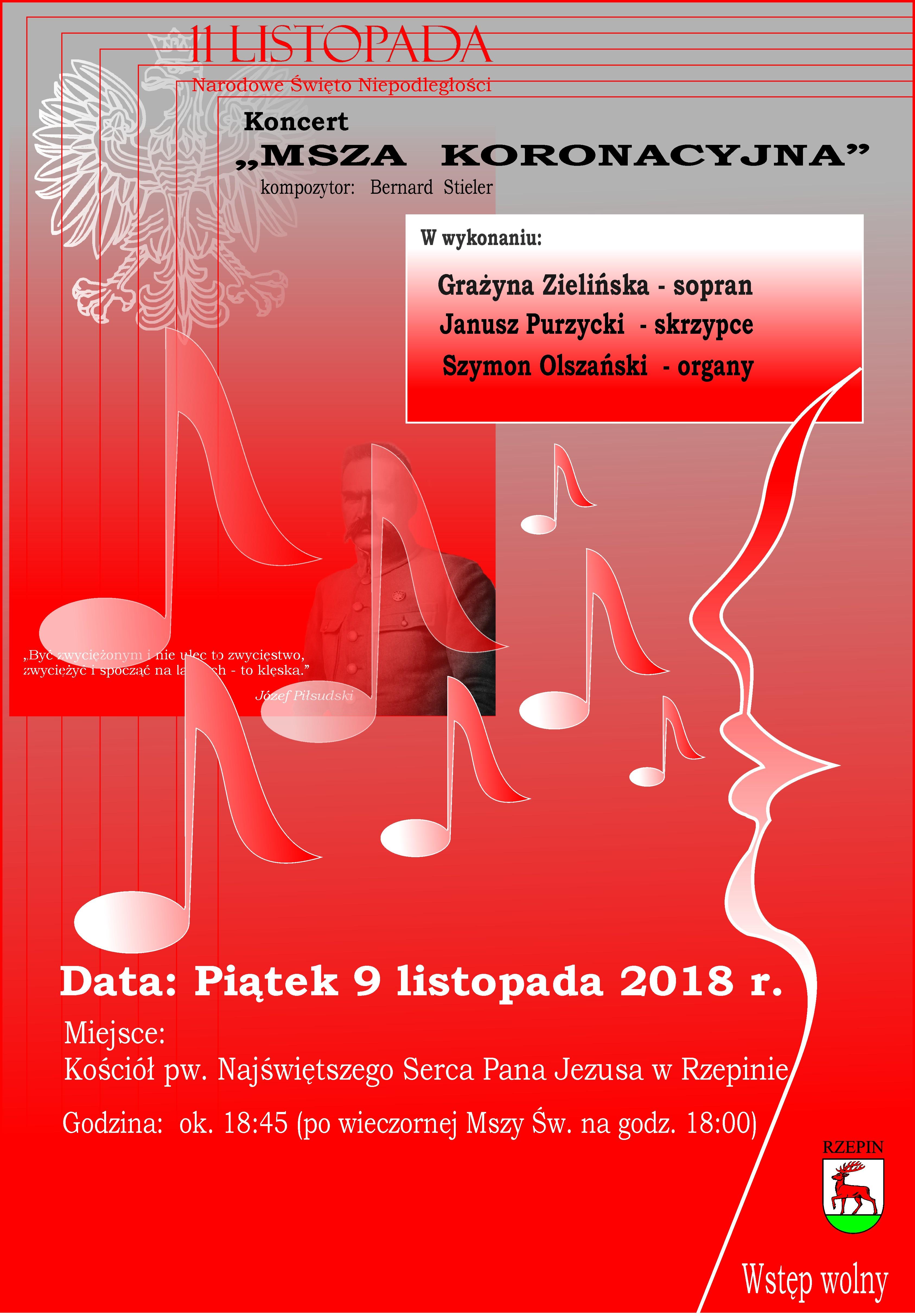 Ilustracja do informacji: Zapraszamy na koncert sopranistki Grażyny Zielińskiej!