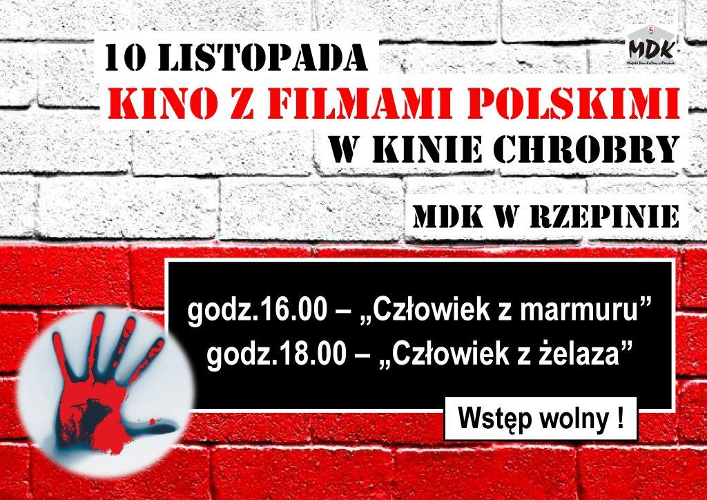 """Ilustracja do informacji: Zapraszamy na """"Kino z filmami polskimi"""""""