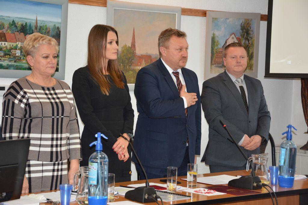 Ilustracja do informacji: Uroczysta sesja inauguracyjna Rady Miejskiej w Rzepinie