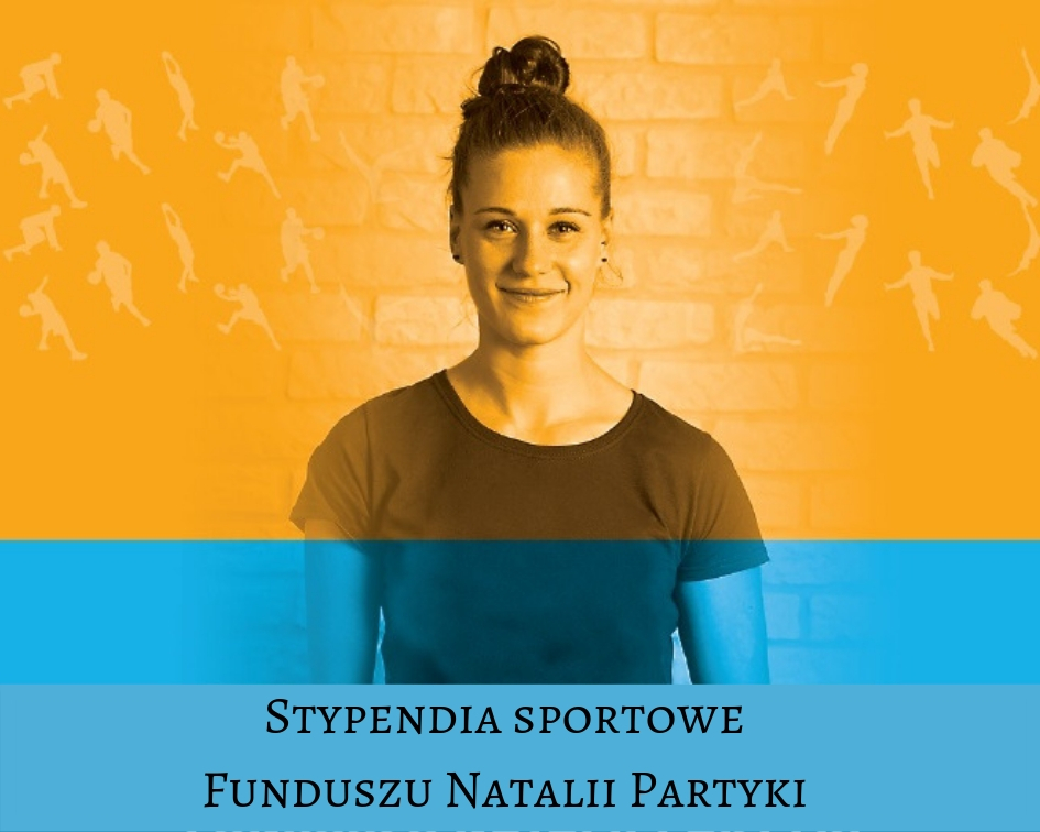 Ilustracja do informacji: Stypendia sportowe Funduszu Natalii Partyki – IV edycja wystartowała.