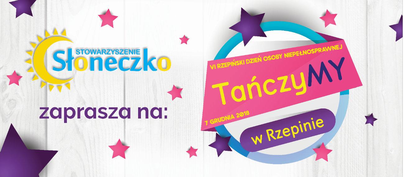 """Ilustracja do informacji: """"TańczyMY w Rzepinie"""" - finał projektu już 7 grudnia podczas obchodów VI Rzepińskiego Dnia Osoby Niepełnosprawnej!"""