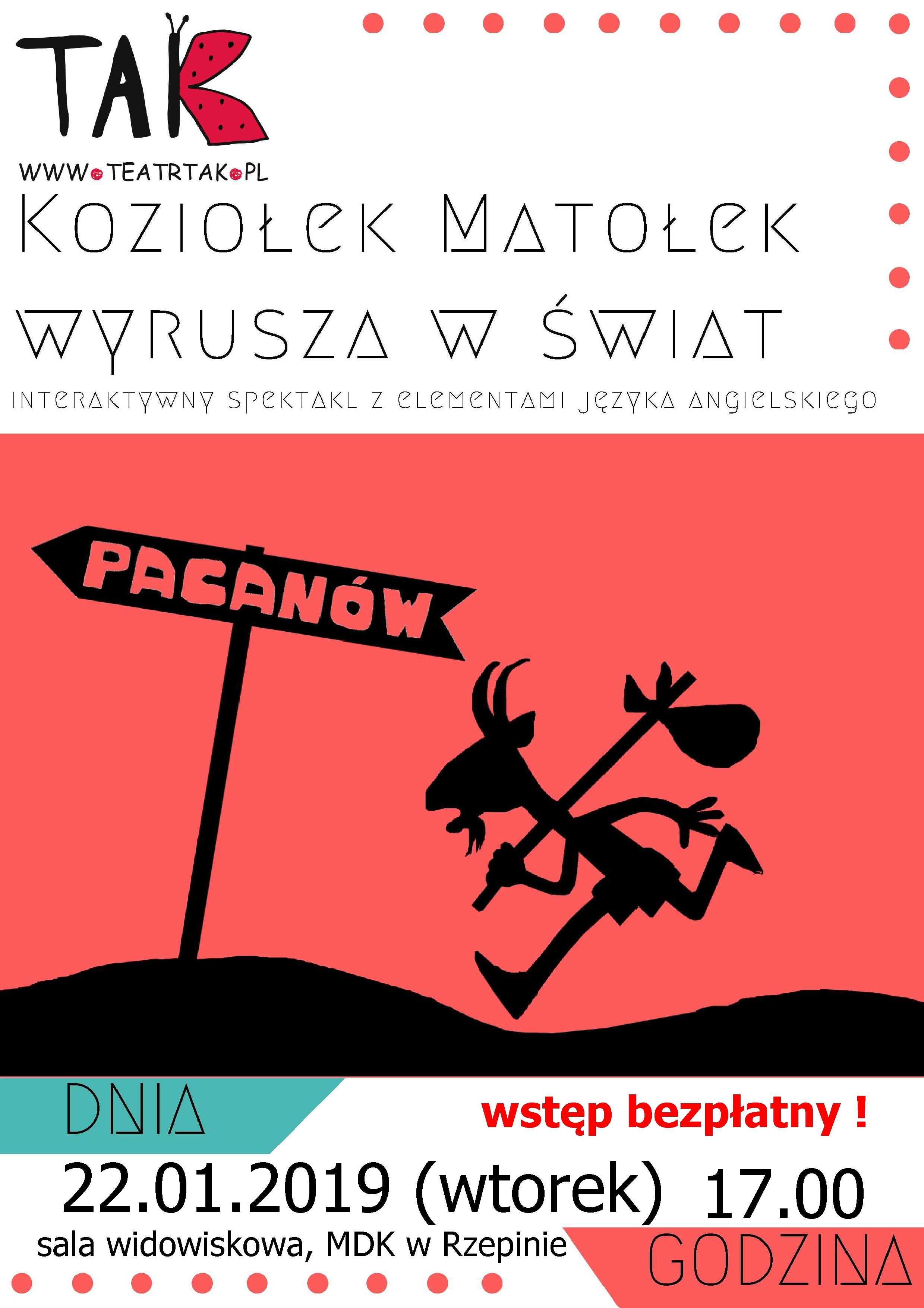 Ilustracja do informacji: Ferie z MDK w Rzepinie!