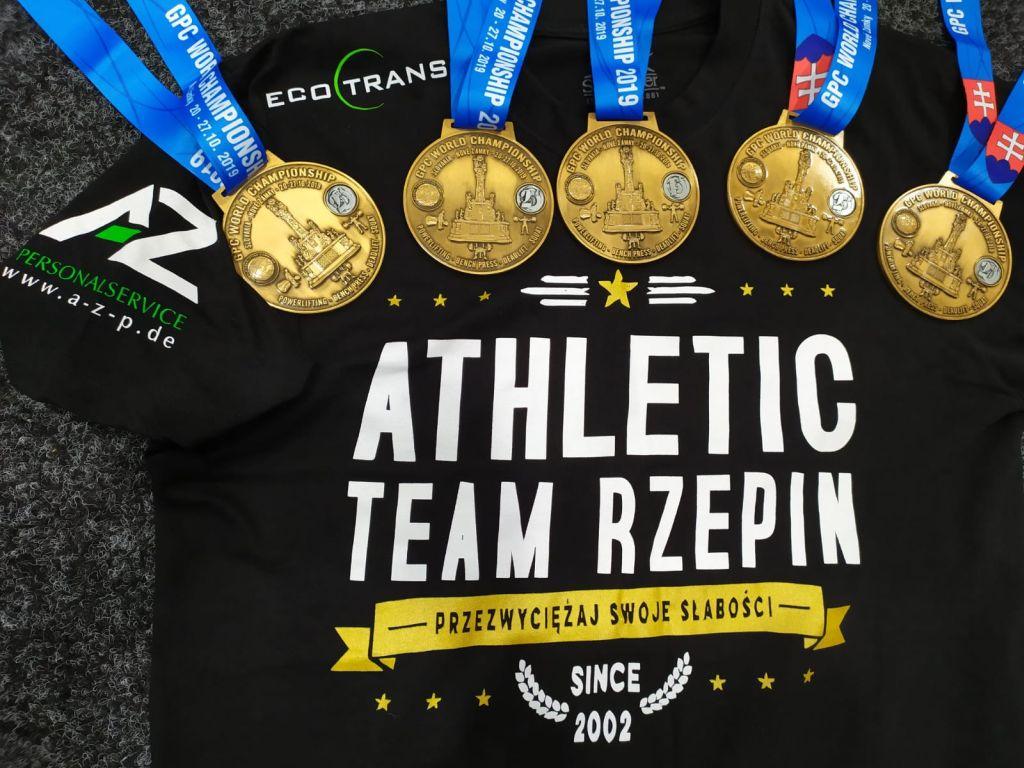 Ilustracja do informacji: Atletic Team Rzepin podsumował rok 2019