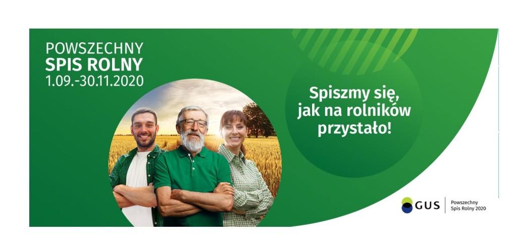 """Ilustracja do informacji: """"Liczy się rolnictwo"""" - trwa Powszechny Spis Rolny 2020."""