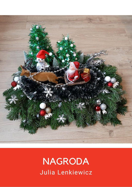 """Ilustracja do informacji: Wyniki X Gminnego Konkursu Plastycznego pt. """"Bożonarodzeniowe tradycje i obyczaje"""" - STROIKI"""