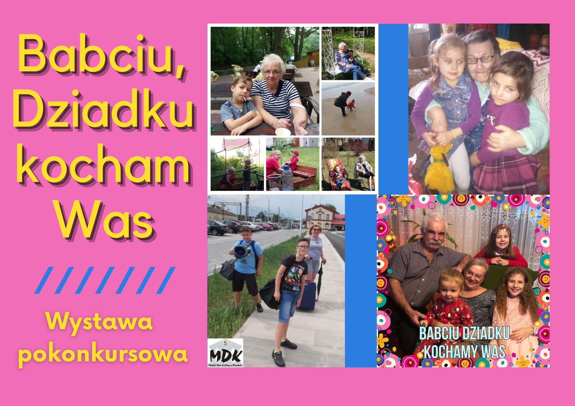 """Ilustracja do informacji: Konkurs pt. """"Babciu, Dziadku, kocham Was"""" rozstrzygnięty!!"""
