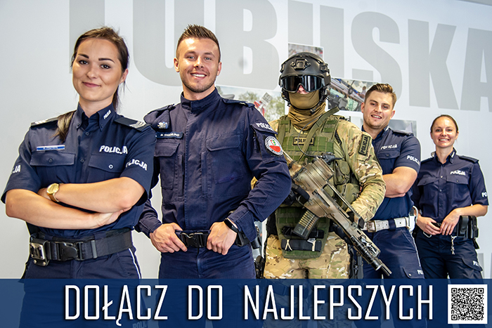 Ilustracja do informacji: Dołącz do najlepszych - dobór do Policji.